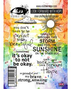 Visible Image Look Forward With Hope Stamp Set