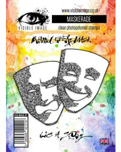 Visible Image Maskerade Stamp Set