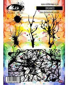 Visible Image Organics Stamp Set