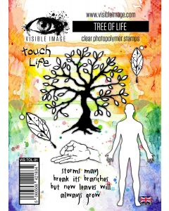 Visible Image Tree of Life Stamp Set