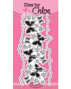 Dies by Chloe - Beautiful Butterfly Border