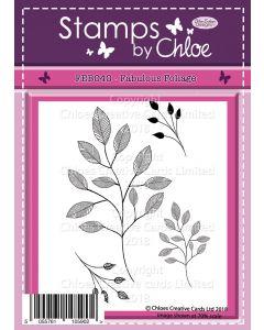 Stamps by Chloe - FEB040Fabulous Foliage