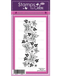 Stamps by Chloe - Beautiful Butterfly Border