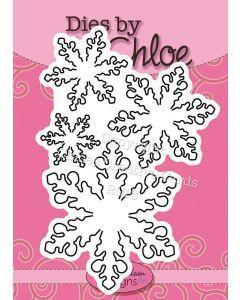 Dies by Chloe - Large Snowflakes