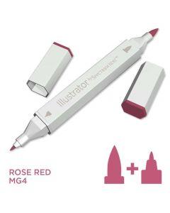 Illustrator by Spectrum Noir Single Pen - Rose Red