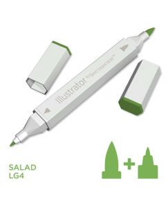 Illustrator by Spectrum Noir Single Pen - Salad