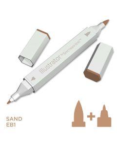 Illustrator by Spectrum Noir Single Pen - Sand