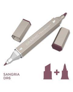 Graphic by Spectrum Noir Single Pens - Sangria