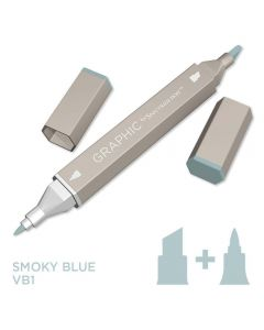 Graphic by Spectrum Noir Single Pens - Smoky Blue