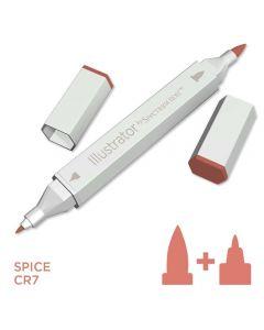 Illustrator by Spectrum Noir Single Pen - Spice
