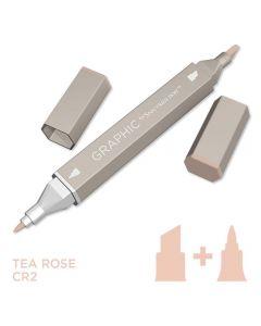 Graphic by Spectrum Noir Single Pens - Tea Rose