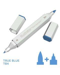 Illustrator by Spectrum Noir Single Pen - True Blue