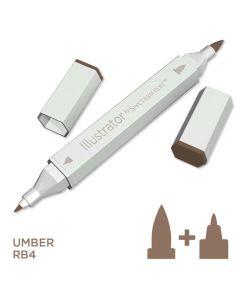 Illustrator by Spectrum Noir Single Pen - Umber