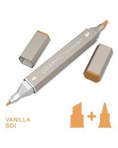 Graphic by Spectrum Noir Single Pens - Vanilla