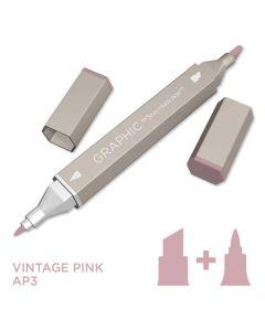 Graphic by Spectrum Noir Single Pens - Vintage Pink