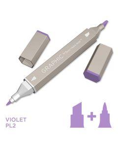 Graphic by Spectrum Noir Single Pens - Violet