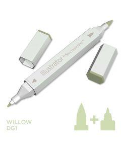 Illustrator by Spectrum Noir Single Pen - Willow