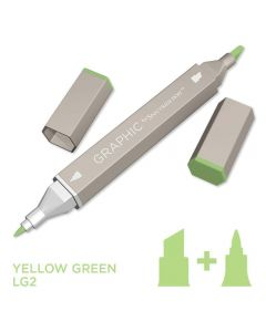 Graphic by Spectrum Noir Single Pens - Yellow Green