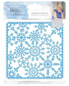 Sara Signature Winter Wonderland Metal Die - Dendritic Crystals