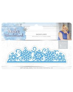 Sara Signature Winter Wonderland Metal Die - Snowflurry