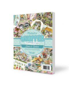 Hunkydory Whopper Topper Pad - Homes and Gardens