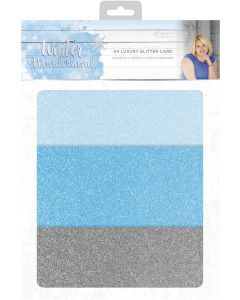 Sara Signature Winter Wonderland - Luxury Glitter Card