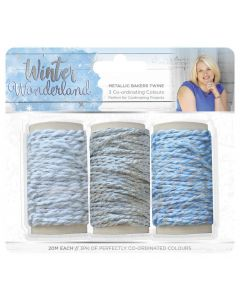 Sara Signature Winter Wonderland - Metallic Bakers Twine (3pk)