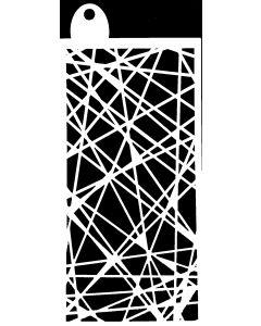 IndigoBlu 6x3 Stencil - Wrapped String