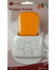 Woodware Banner Punch