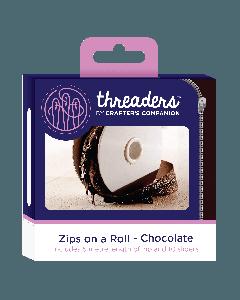 Zips on a Roll - Chocolate thumb