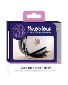 Zips on a Roll - Grey thumb