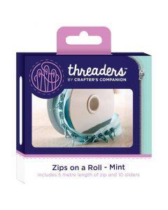 Zips on a Roll - Mint thumb