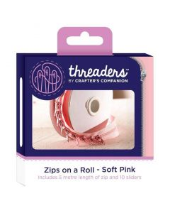 Zips on a Roll - Soft Pink thumb