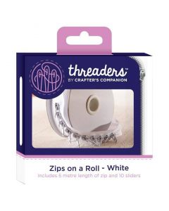 Zips on a Roll - White thumb