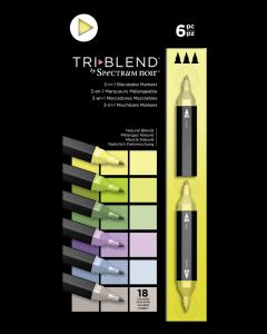 NEW Crafter/'s Companion Spectrum Noir Pen Set Yellows 6 pc